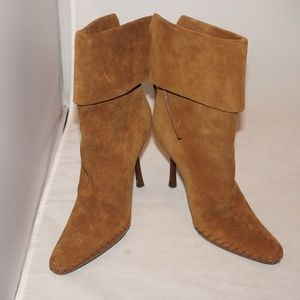 GUCCI SUEDE BOOTS 6M